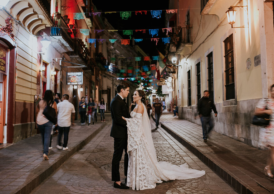 Una boda boho (extremadamente) chic en Guanajuato