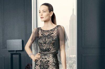 Vestidos de festa com renda: uma opção super elegante para convidadas