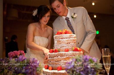 10 diseños de pastel para una boda con pocos invitados