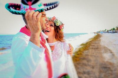 Casar na praia: truques para um casamento feliz à beira-mar.