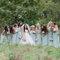 Vestidos en color pastel para tus damas de boda - Foto: Vicky Bartel Photography