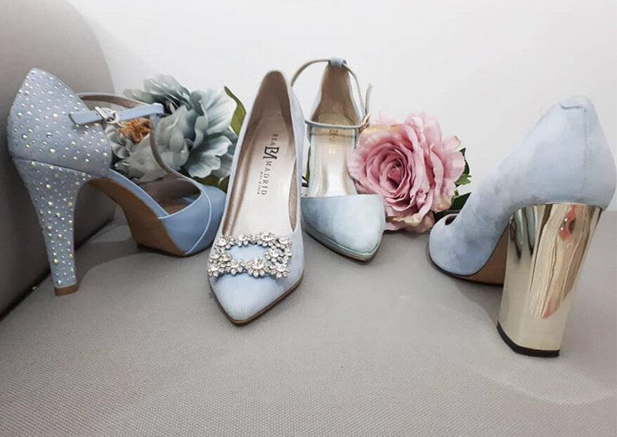 Los zapatos que estás buscando para el día de tu boda están en Bea Madrid