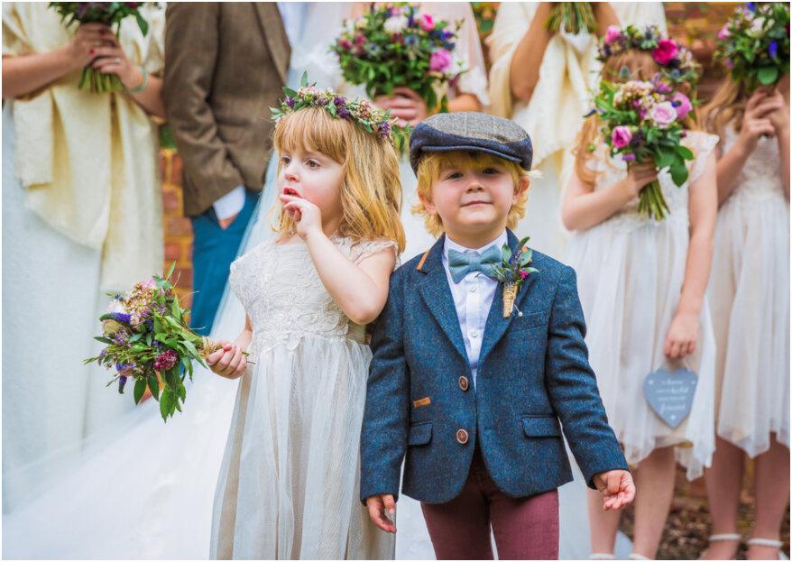 Hoe vermaken jullie bruidskinderen zich op de bruiloft?