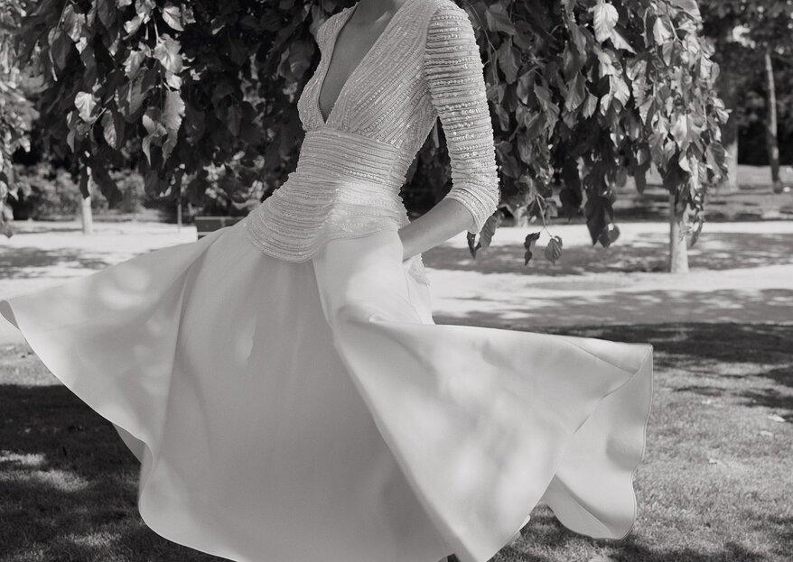 Les nouvelles collections mariage font leur rentrée au Printemps, avec six nouvelles marques en exclusivité !