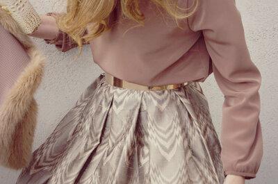 Los 7 tipos de falda que querrás llevar en tu próxima boda