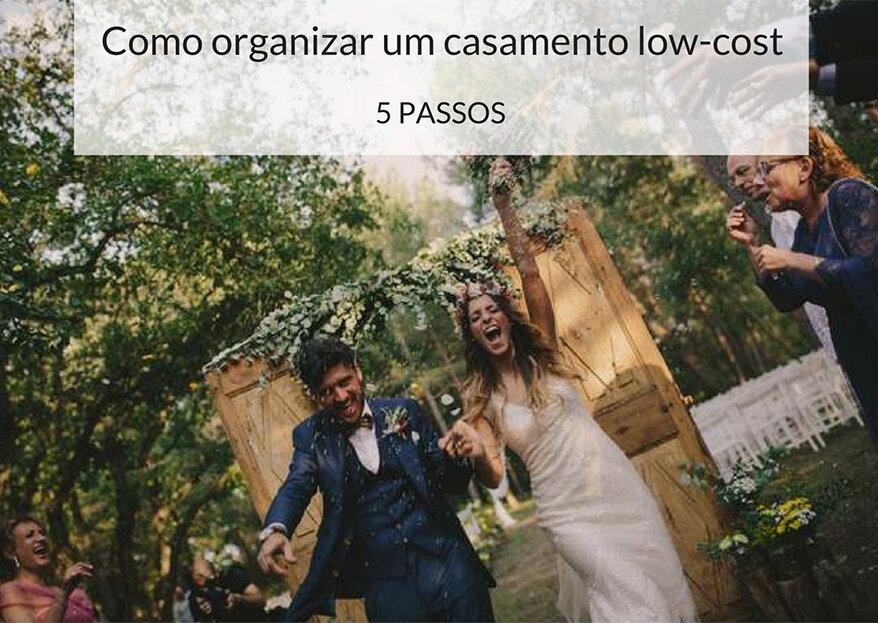 Como organizar um casamento low-cost em 5 passos