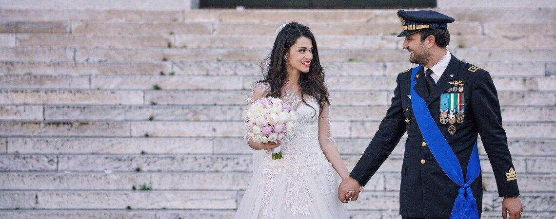 """""""Ridere di te"""": il matrimonio di Luca e Roberta"""
