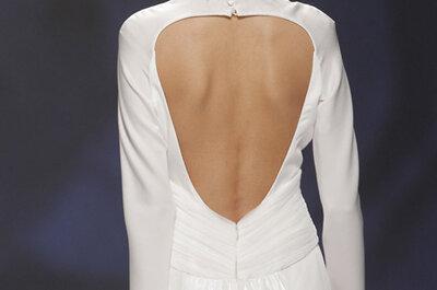 Vestidos de novia con espaldas elaboradas: la apuesta segura para el 2015