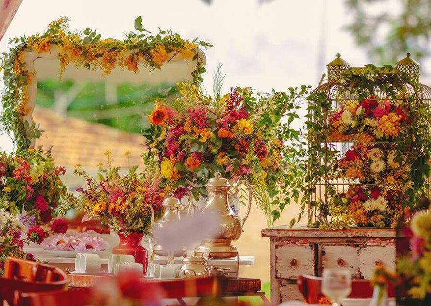 I fiori più belli per il matrimonio nelle 4 stagioni dell'anno
