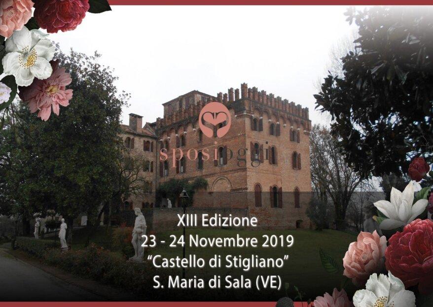 Sposi Oggi: il nuovo appuntamento per il 23-24 novembre al Castello di Stigliano