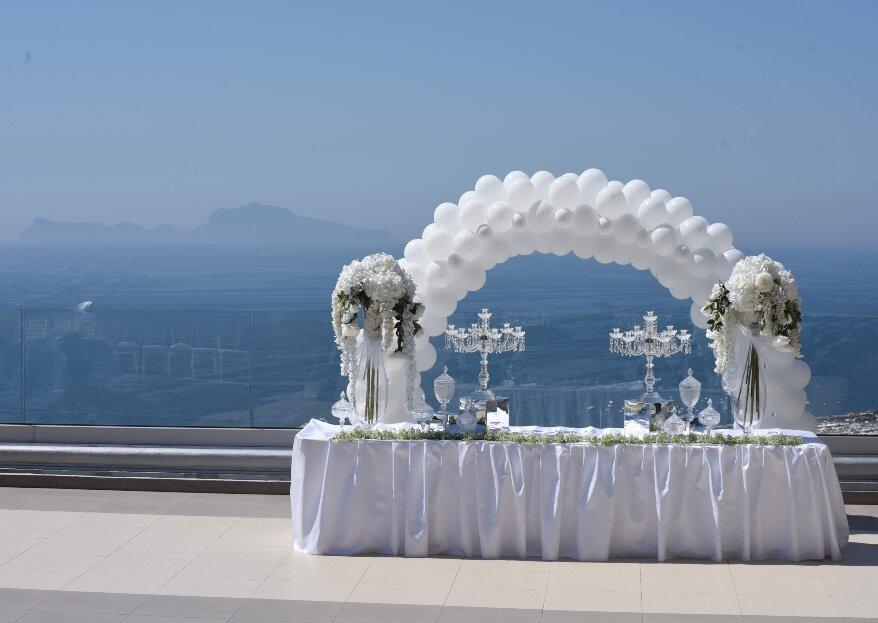 Le Arcate, una meravigliosa terrazza affacciata sul golfo di Napoli, per un matrimonio indimenticabile!