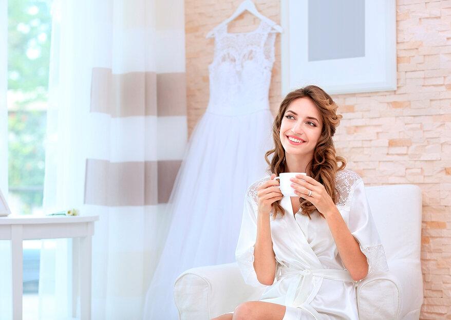 Cómo manejar los nervios pre-boda: 5 cosas que te ayudarán a relajarte