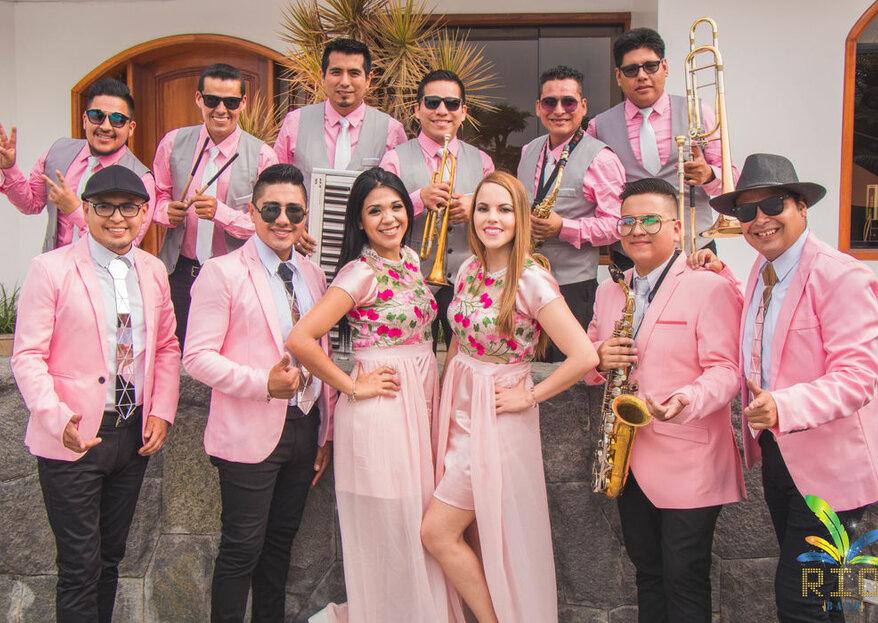 Rio Band Orquesta: la música ideal para que invitados y novios disfruten el doble de la boda