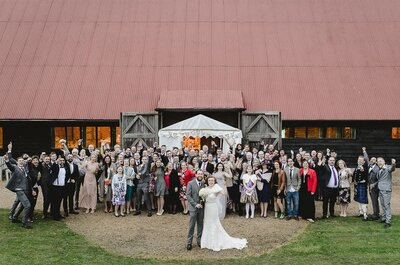 Real Wedding: Emma and Blayne's fun filled day!