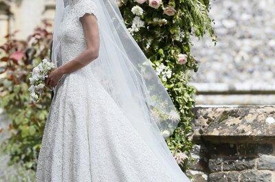 O vestido de noiva de Pippa Middleton: nós contamos-lhe tudo!