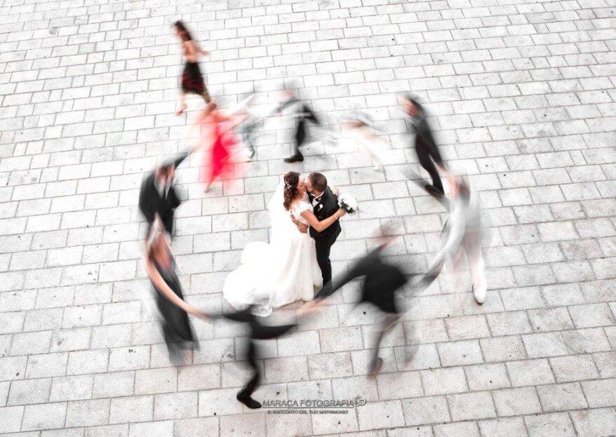 MARACA FotoGrafia vi accompagnerà all'altare con romanticismo, discrezione e tanta empatia, per un album di nozze da sogno!