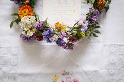 5 ragioni per cui le corone floreali torneranno di moda nel 2017