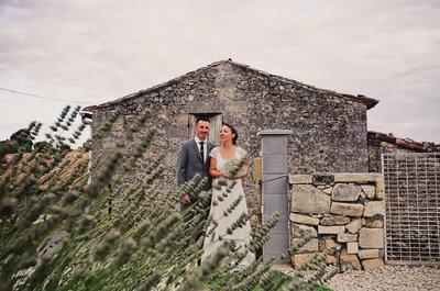 Tiffany + Samuel : un mariage en petit comité tout en authenticité!