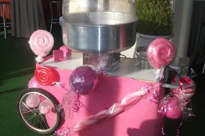 Sorprende en la recena de tu boda con un carrito de catering