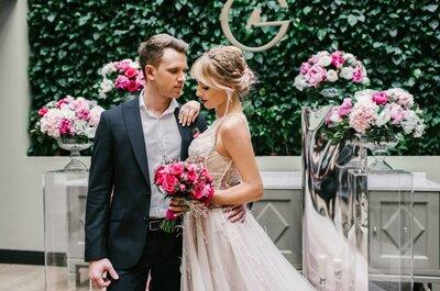 Cosmo wedding: утонченный и стильный гламур