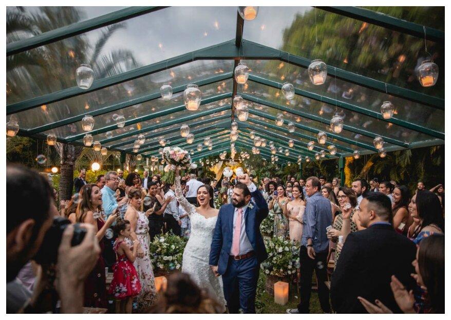 O casamento dos sonhos: na Casuarinas Casa de Festas seu grande dia será inesquecível.