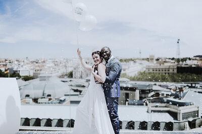 Feeling Wonderful: una sesión en blanco y bronce que hará que quieras casarte ya