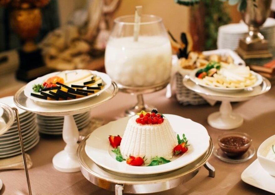 Prova menù di nozze: ecco svelati tutti i segreti di Servizi Cherubini Banqueting & Catering