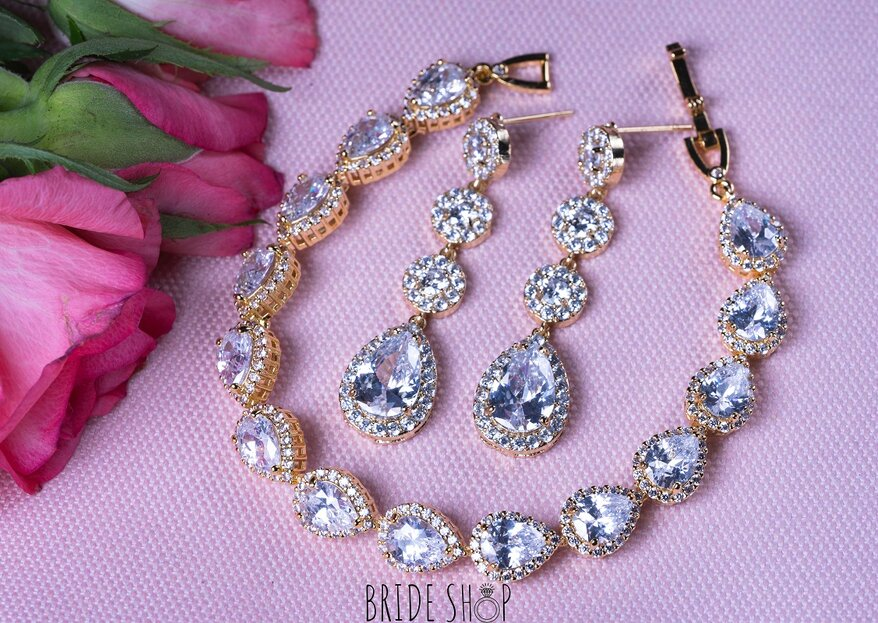 Biżuteria ślubna 2019, czyli bransoletki, kolczyki i naszyjniki, w których się zakochasz!
