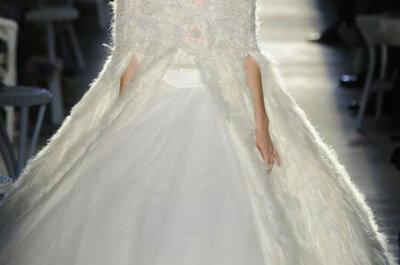 Los abrigos que querrás llevar en tu boda de invierno