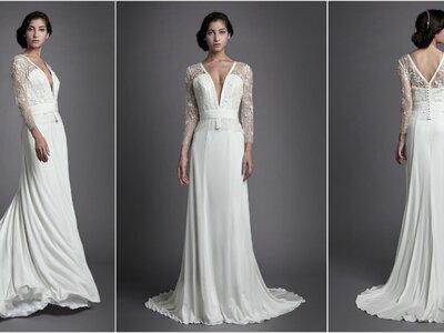Un savoir-faire Haute Couture pour des robes de mariée sur mesure, découvrez la Maison Christophe-Alexandre Docquin
