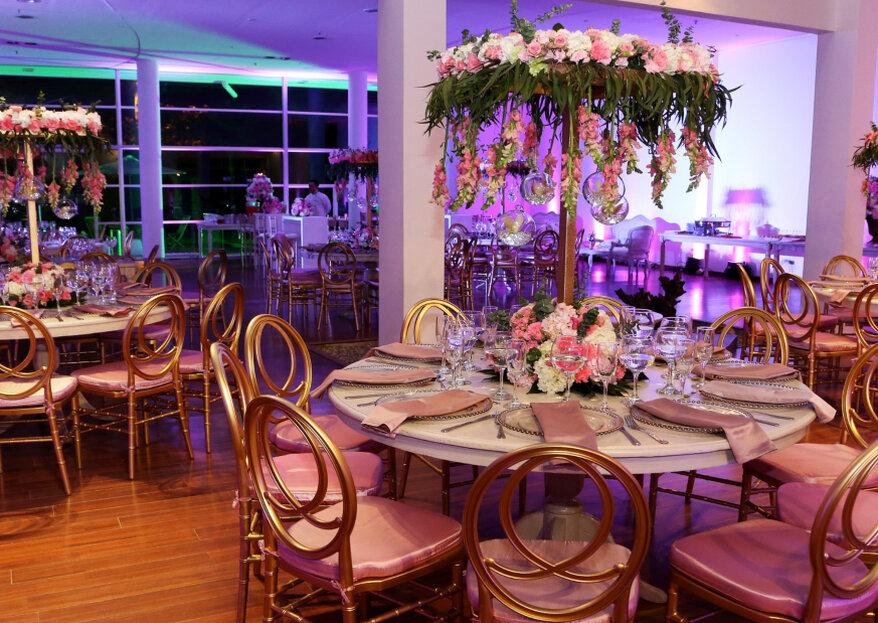 ¿Habías pensado en La Paleta Floral para la decoración de tu boda?