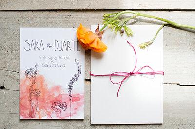 Convites de casamento: contamos-vos tudo o que precisam de saber sobre eles!