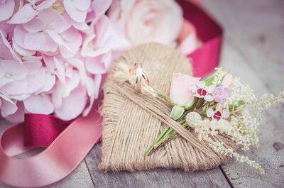 3 trucos infalibles para acertar con tus alianzas de boda