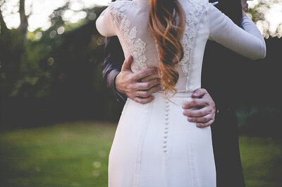 El detalle clave que necesita tu vestido de novia: los botones