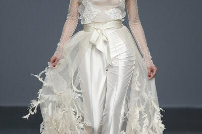 Looks com calça que farão você esquecer o vestido de noiva!