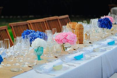 Cómo elegir los meseros de boda perfectos: 5 ideas diferentes
