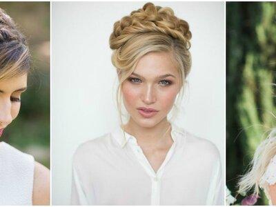Peinados de novia con trenzas: Los estilos triunfadores ¡solo aquí!