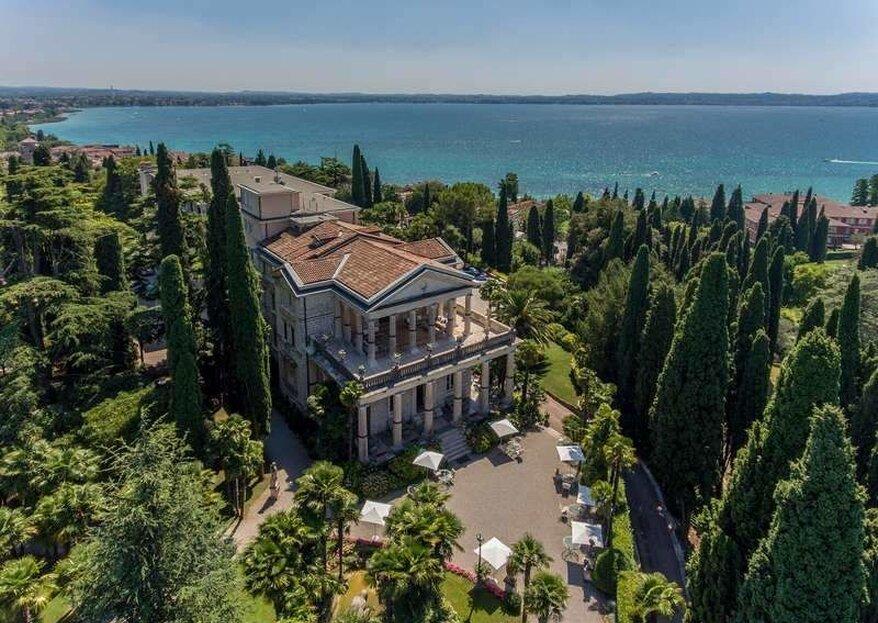 Il tuo matrimonio a Villa Cortine Palace tra sogno e realtà...