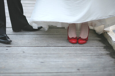 Chaussures de mariée : blanches, mais pas que...