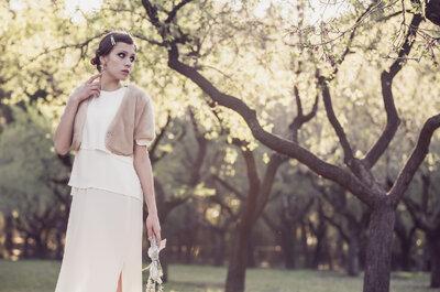 6 vestidos de novia poco convencionales. ¡Marca la diferencia en tu look nupcial!