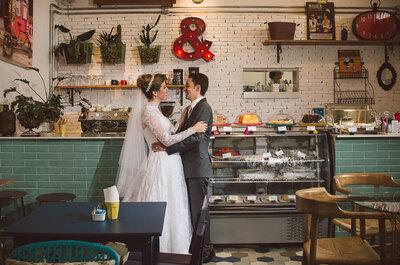 Natália & Daniel: casamento clássico moderno com detalhes vintage maravilhosos!