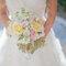 Ramo de novia en colores pasteles