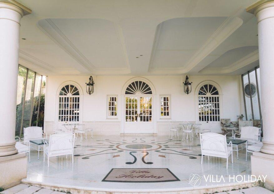 Moet Chandon sceglie Villa Holiday: brinda con lo champagne più famoso del mondo il tuo grande giorno