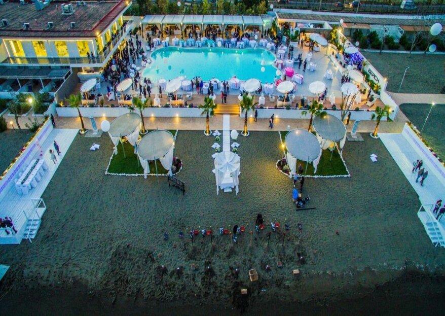 Kora Events benedirà la vostra unione dalla sua romantica cornice affacciata sul golfo di Pozzuoli...