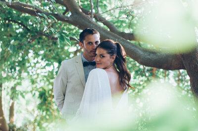 En medio del océano: la boda de Liora y Yann