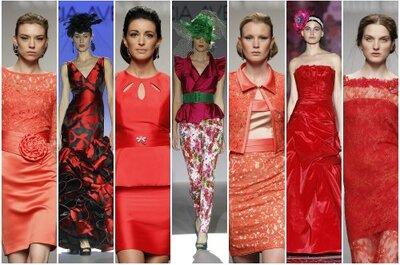 Vestidos de fiesta rojos 2013, pura pasión como tendencia