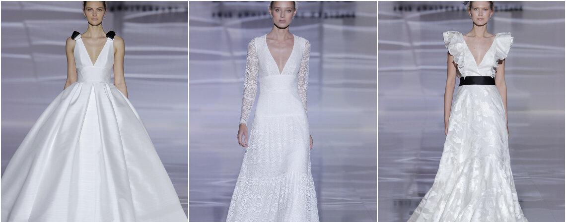 Vestidos de novia Jesús Peiró 2019: conoce y enamórate de su nueva colección 'Heritage'