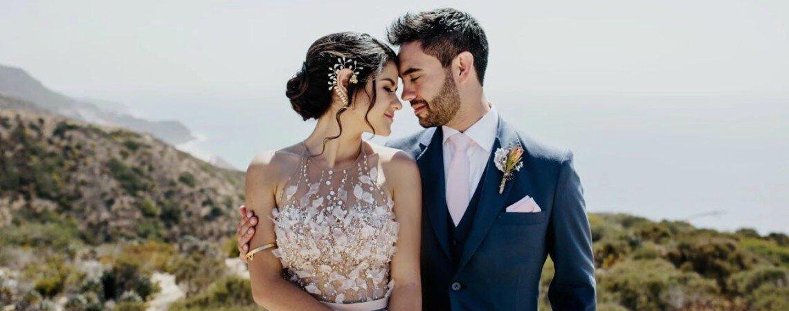 ¡Vas a querer que esta diseñadora vista a tu novio el día de tu boda!