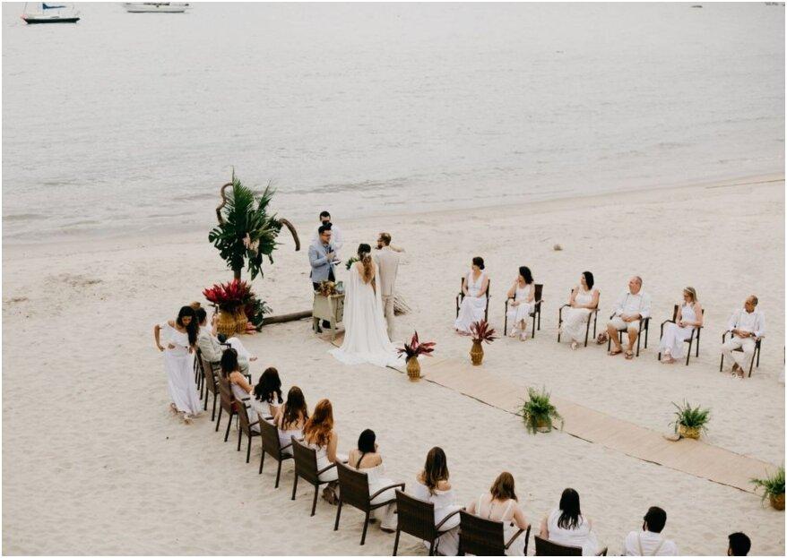 Um dia perfeito para se apaixonar novamente: o dia do seu casamento!