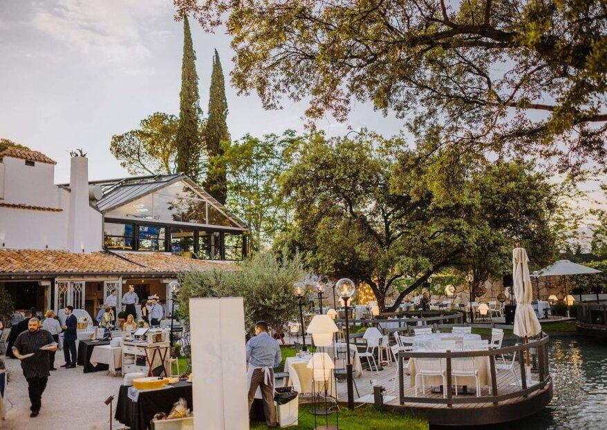 El Jardín de la Máquina: la casa de campo más exclusiva para celebrar una boda en plena naturaleza